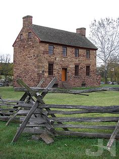 The Stone House - Manassas Battlefield, Virginia ~ used by Union soldiers as a field hospital during Battle of Bull Run and the Second Battle of Bull Run