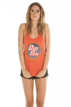 OBEY Clothing - Far out fall out tank top