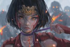 Anime Kabaneri Of The Iron Fortress Mumei Koutetsujou No Fantasy Girl Warrior Sad Tears Wallpaper