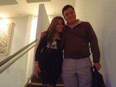 Freddie Armando Romero y la cantante Isabel. (2011)