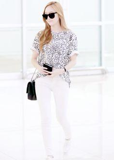 Jessica ♥ Airport Fashion / Fashion ♥ # Girls Generation