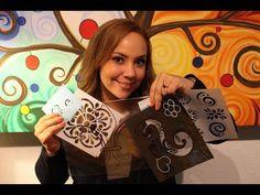 Como Decorar un Almohadón Vintage con Servilletas - Imitación Puntilla con Pinturas 3D - YouTube