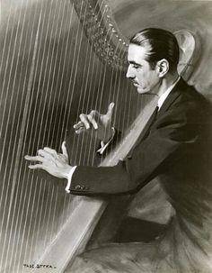 Marcel Lucían Grandjany French Harpist