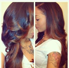 Beautiful,Lush,Velvety,Fullness,And Deep Colour Saturation Can Be Yours...All You Need Is A Bona-fide Stylist With Excellent Hair Sculpting/Styling Skills...And A Flair To Turn You Into The Most Beautiful And Sought After Woman On The Planet.Check Out The Lovely Locks From Tressence®!