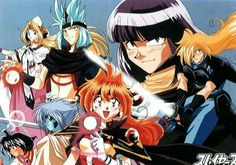 Slayers one of my favorite anime series.