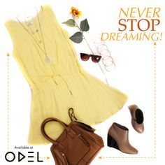 NEVER STOP DREAMING!  #ODEL #OdelStyle #OdelFashion #Trends #LifeStyle