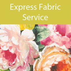 Express Digital Fabric Printing Service