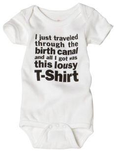 Sara Kety Unisex-baby Newborn Lousy Infant Bodysuit