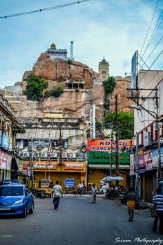 Rockfort temple Trichy,India.