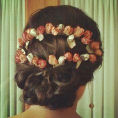 Cherubina bridal #headpiece #wedding tocado novia boda