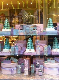 Laduree <3 The best macaroons in Paris. I went twice when I was there