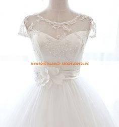 Elegante Unique Brautkleider 2013 aus Softnetz mit Spitze