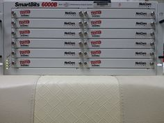 NetCom(Spirent) SmartBits SMB-6000B 12-Slot,  Firmware ver 2.8, Tested, Working #NetCom