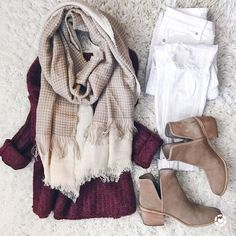 cute fall/winter outfit with booties