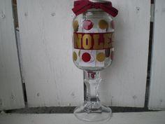 NOLES mason jar wine glass