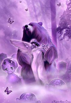 Kerri Ann Crau - Bear Spirit by sabarlynn