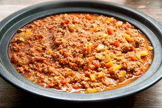 Paleo bolognese spaghetti sauce