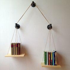 The Balance Bookshelf Encourages You to Do More Reading trendhunter.com