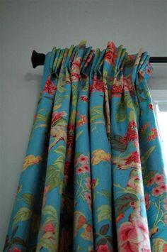 Prairie Perch: Curtains are Up!
