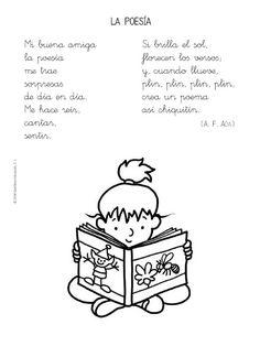 Spanish poem for kids, poesías para educación infantil Dual Language Classroom, Bilingual Classroom, 2nd Grade Classroom, Bilingual Education, Spanish Classroom, Spanish Lesson Plans, Spanish Lessons, Learn Spanish, Learning Spanish For Kids
