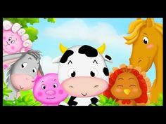 Apprendre les animaux de la ferme en français - YouTube