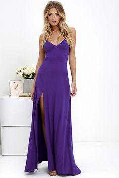 Bridgetown Beauty Purple Maxi Dress at Lulus.com!