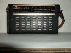 Sokol Radios, Hungary, Budapest, Poland, Nostalgia, Childhood, Memories, Blog, Vintage