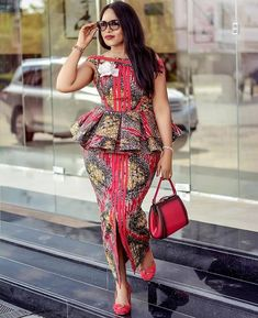 2019 African Fashion: Gorgeous and Trendy Asoebi Styles Best African Dresses, African Traditional Dresses, Latest African Fashion Dresses, African Print Dresses, African Print Fashion, Africa Fashion, African Attire, Ankara Fashion, Latest Dress Styles