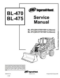 Bobcat WS32 Wheel Saw Service Manual SN AR2K00101 & Above