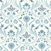 "Found it at Wayfair - Seaside Living Island 33' x 20.5"" Damask Wallpaper Roll"