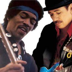 Hendrix + Santana