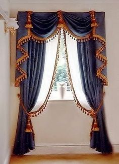 luxury classic curtains and drapes blue curtains designs for window New catalogue of classic luxury curtains and drapes 2017 with the best classic curtains designs and drapery designs 2017 for all rooms living room, kitchen, dining room Contemporary Curtains, Modern Curtains, Colorful Curtains, Decorative Curtains, Luxury Curtains, Home Curtains, Thick Curtains, Sheer Curtains, Classic Curtains