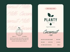 Milk Packaging for Planty label planty non-dairy dairy milk packaging milk packaging branding logo Packaging Stickers, Milk Packaging, Beverage Packaging, Coffee Packaging, Bottle Packaging, Packaging Design, Chocolate Packaging, Tea Design, Label Design