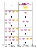 Great Valentines Learning Printables