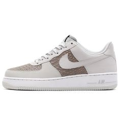 #Nike Air Force 1 Light Ash Grey/White #sneakers