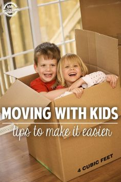 How to make moving with kids a little less stressful!
