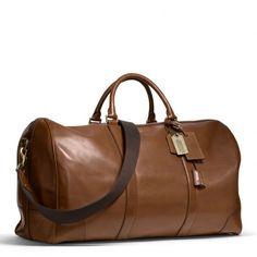 Coach's Bleecker Leather Cabin Bag
