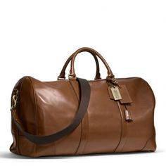 Coach's Bleecker Leather Cabin Bag