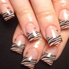 I LOVE wearing my zebra with some sass!  Google Image Result for http://www.nailsmanicures.com/wp-content/uploads/2012/10/Zebra-nails-art-design.jpg