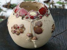 Vasen - Keramikkugelvase - ein Designerstück von Susanne-Spitzbarth bei DaWanda