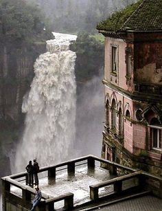 Water views ... The Hotel del Salto, Tequendama Falls, Bogotá River, Colombia