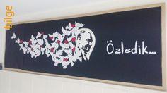 #bilge# 10 kasım için yaptığım bu çok beğenildi... Bu senede Çankaya ilkokulunda yaptım....