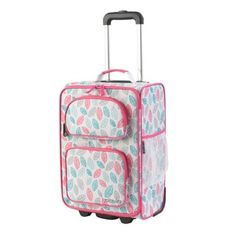 7610e50e4 Kid Kraft Leaves 18-inch Carry-on Rolling Suitcase | Overstock.com Shopping