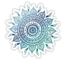 Gradiant Mandala Sticker