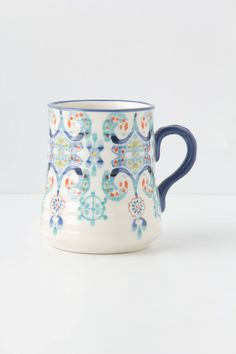 Swirled Symmetry Mug - anthropologie.com