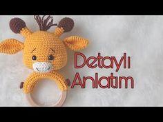 Crochet Disney, Montessori Baby, Amigurumi Toys, Baby Knitting Patterns, Baby Sewing, Crochet Toys, Baby Toys, Tweety, Giraffe