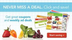 Get great deals and coupons on shaws.com! Download the app and make shopping at Shaws so much easier! :)