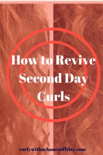 How to Revive Second Day Curls