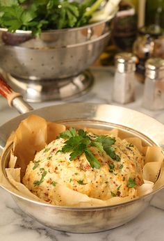 Whole Roasted Cauliflower with Parmesan Cheese Frosting   Creative-Culinary.com