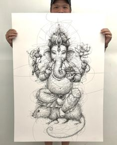 "3,343 Likes, 56 Comments - Vince Low (@vince_low) on Instagram: ""Printed and ready to deliver #ganesha @ssubyy """